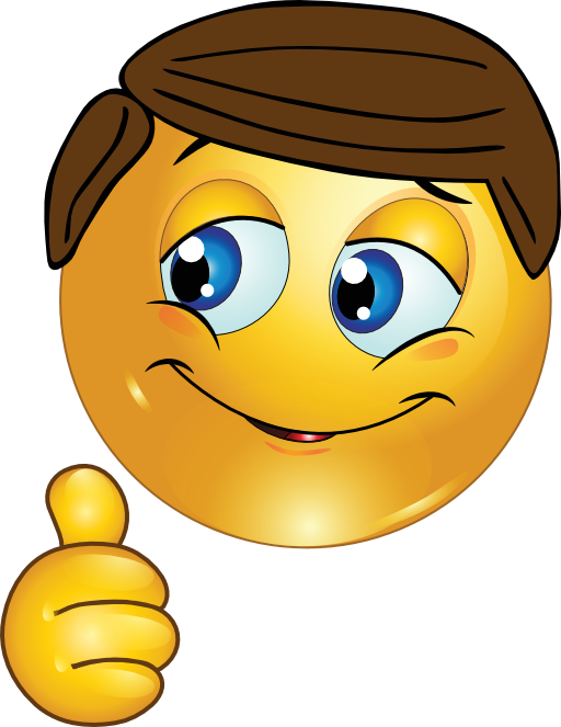 512x663 Thumbs Up Boy Smiley Emoticon Clipart I2clipart