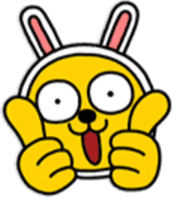 699x800 Kakaotalk Friends Muzi (Two Thumbs Up) Stickers By Icdeadpixels