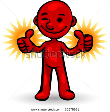 450x460 Thumbs Up Guy Clipart