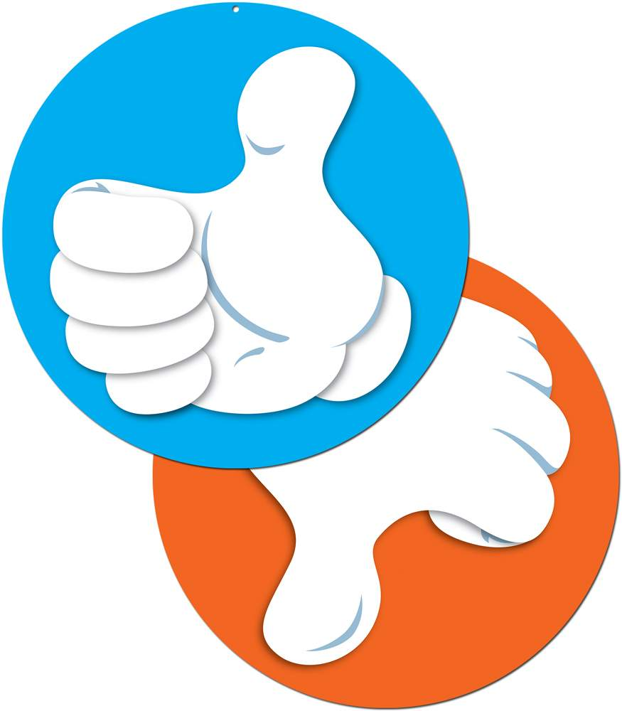 875x1000 Thumbs Up Down Clipart Collection
