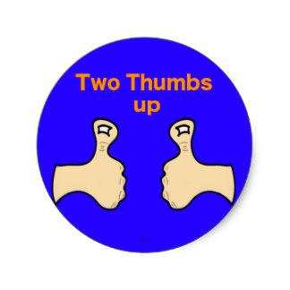 324x324 Two Thumbs Up Gifts On Zazzle