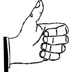 280x280 The Best Thumbs Up Drawing Ideas Prayer Hands