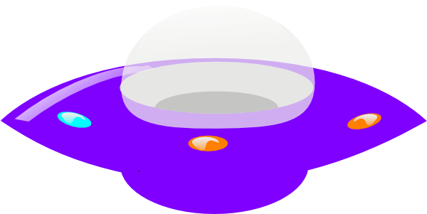 600x301 Purple Ufo Clip Art