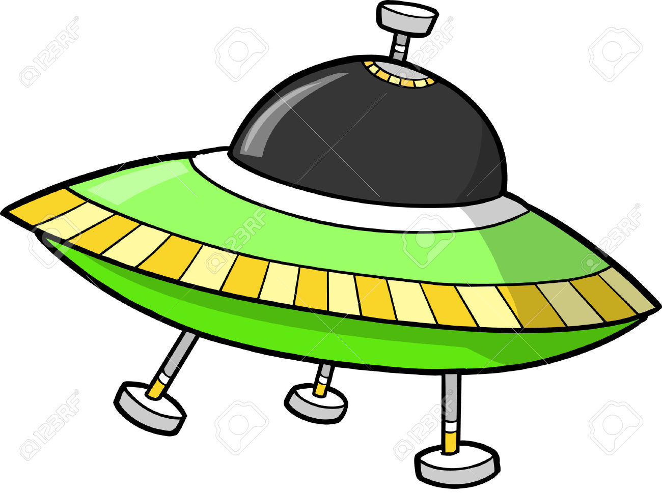 1300x969 Space Clipart Flying Saucer