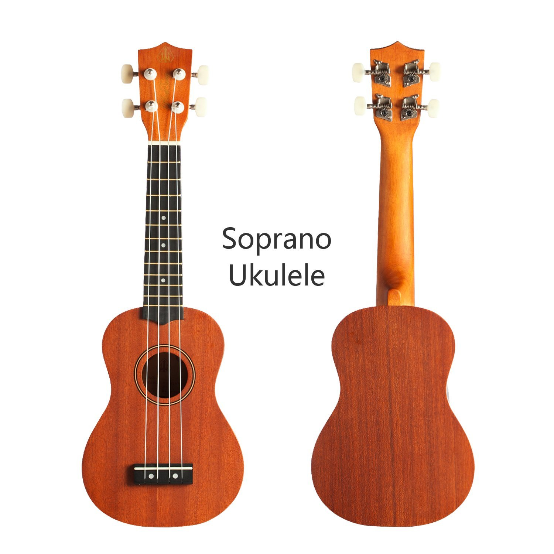 1500x1500 Honsing Ukulele Soprano With Gig Bag For Beginners 21