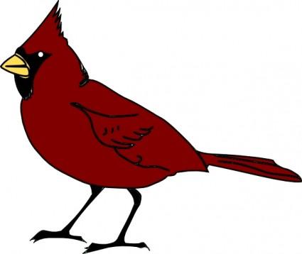 425x358 Bird Clipart Image Clip Art Cartoon Of A Blue Bird Standing Up