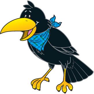 327x327 Crow Birds Clipart, Explore Pictures