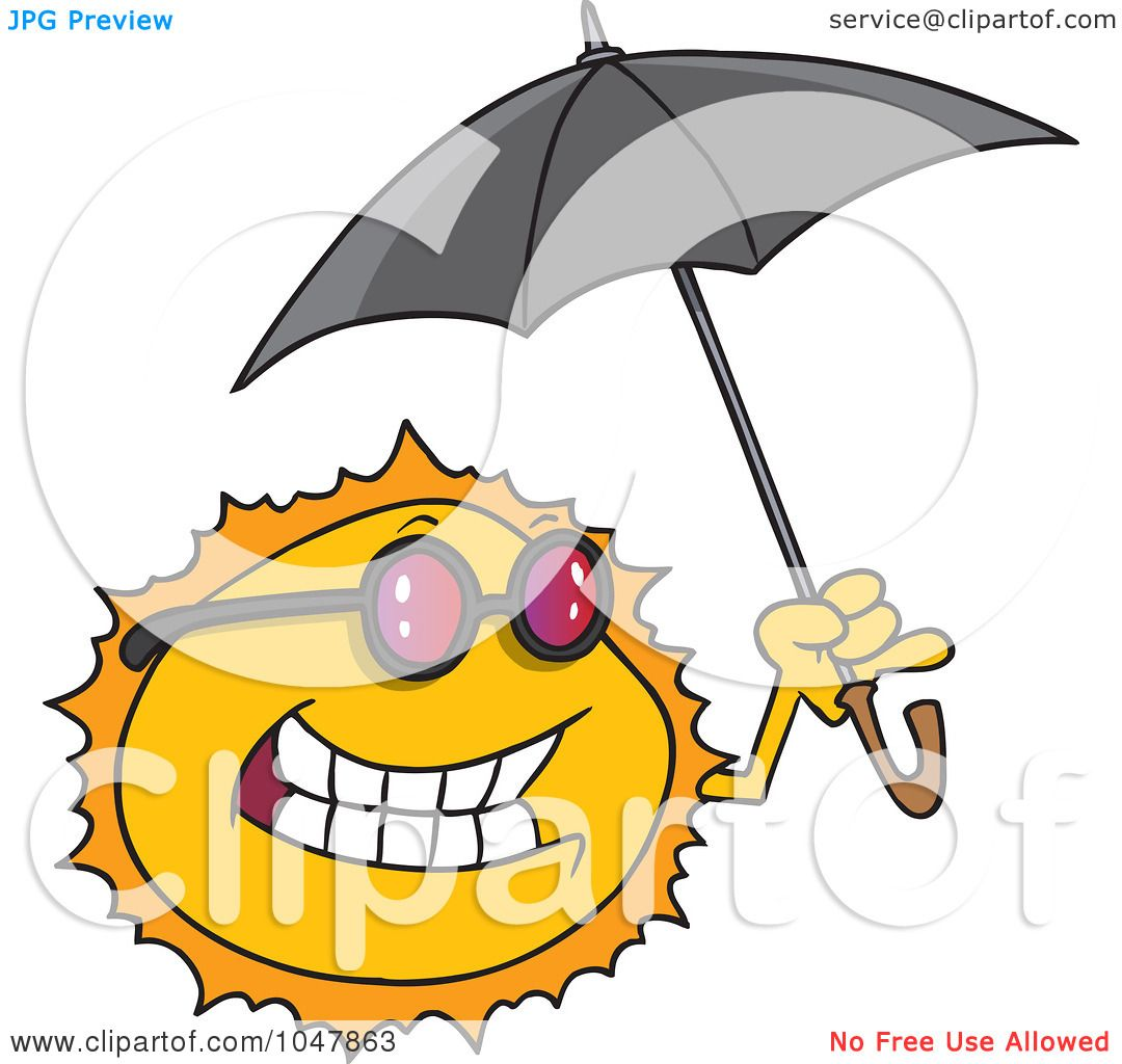 1080x1024 Royalty Free (Rf) Clip Art Illustration Of A Cartoon Sun Holding