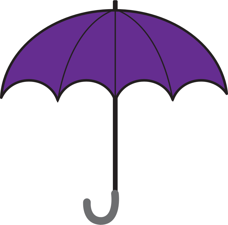 800x788 Clip Art Umbrella