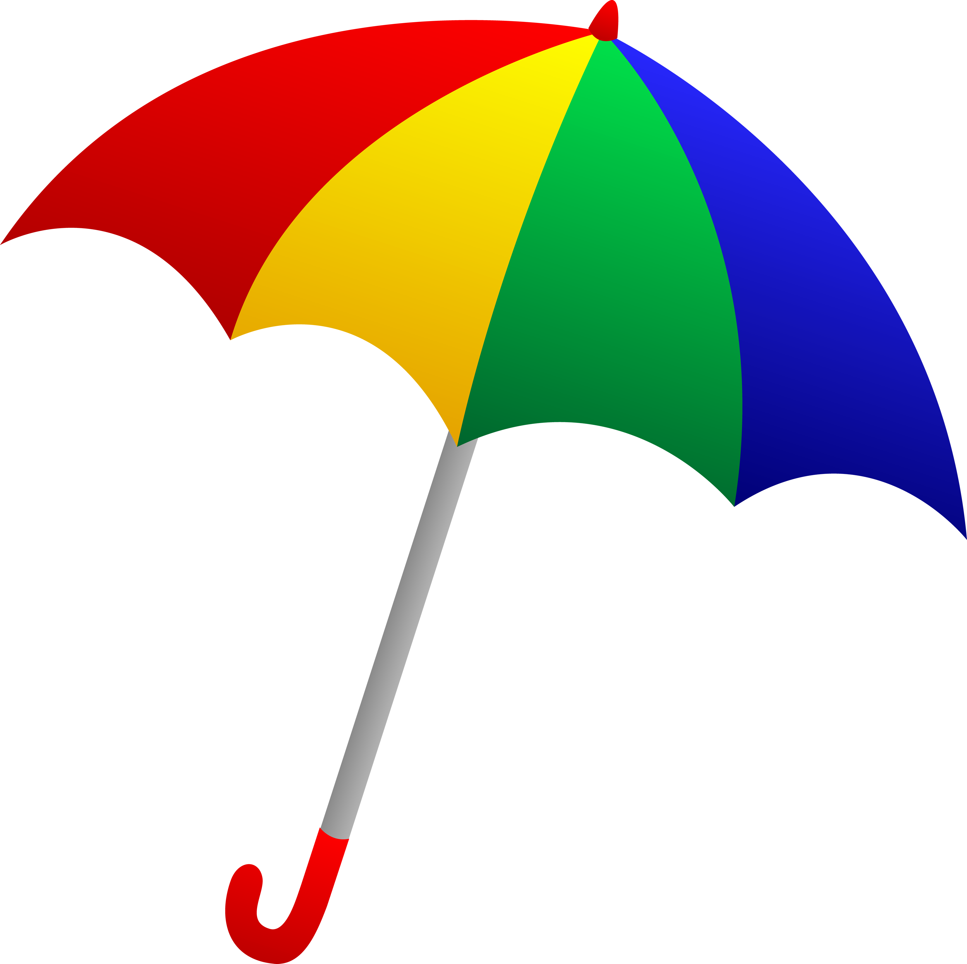 3304x3295 Clip Art Of An Umbrella Clipart 2 Clipartbold Clipartix