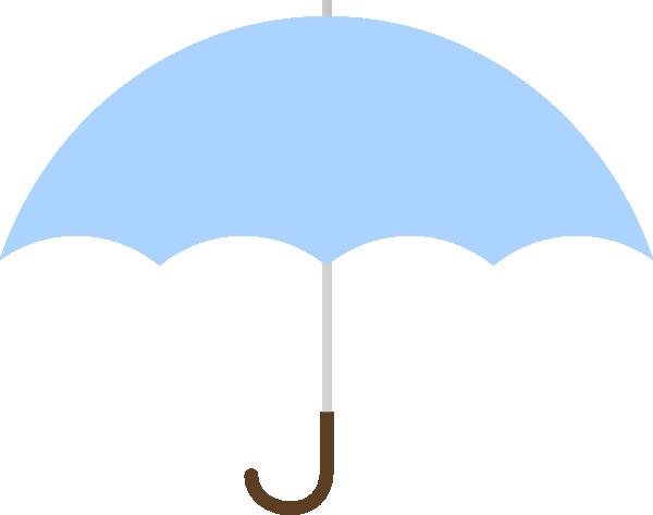 600x473 Turquoise Umbrella Clip Art