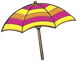 252x200 Umbrella Beach Clip Art Clipart Panda