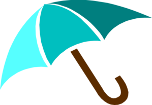 299x207 Umbrella Clipart Blue Umbrella