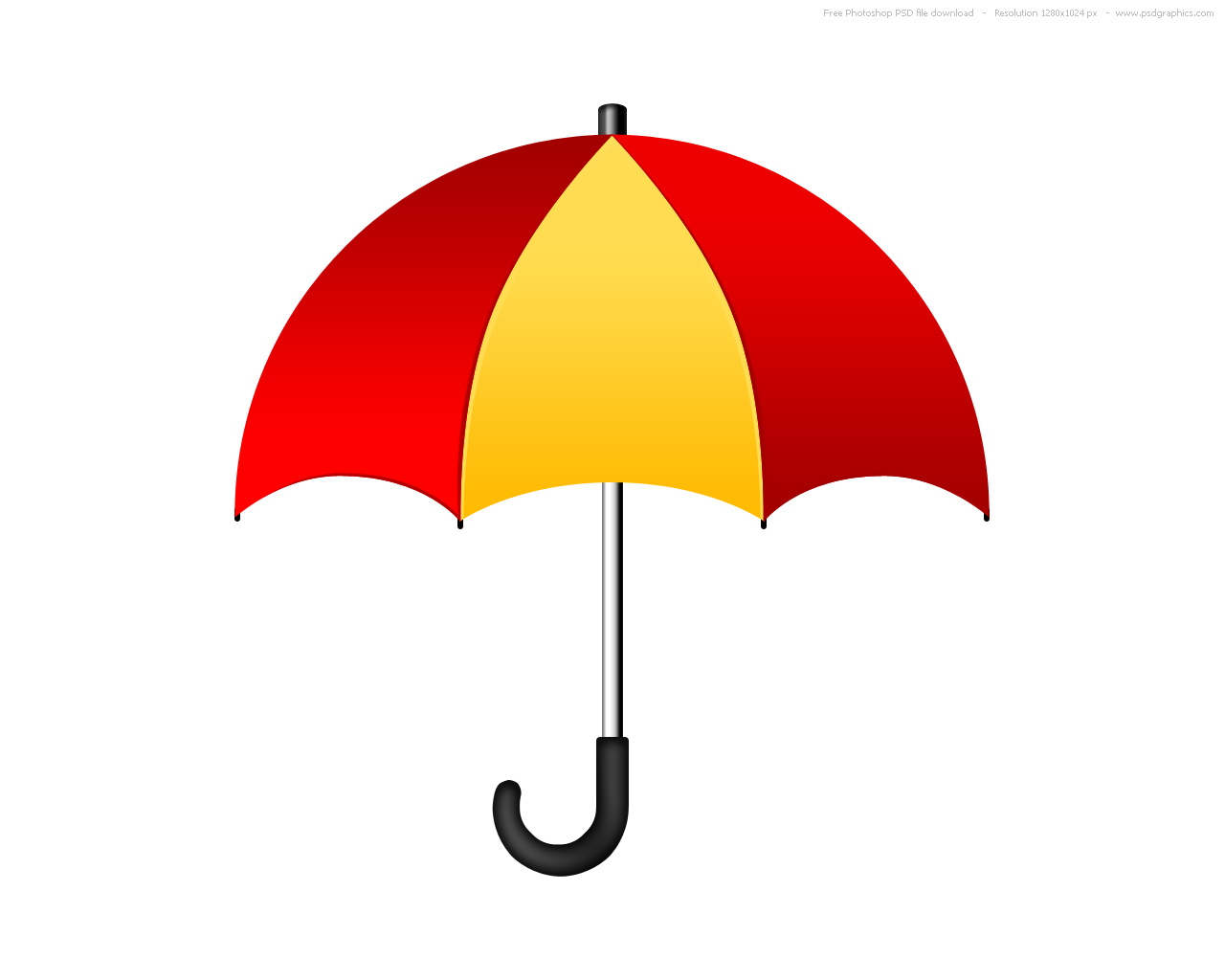 1280x1024 Umbrella Clipart Printable