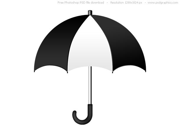 Umbrella Clipart Black And White | Free download best