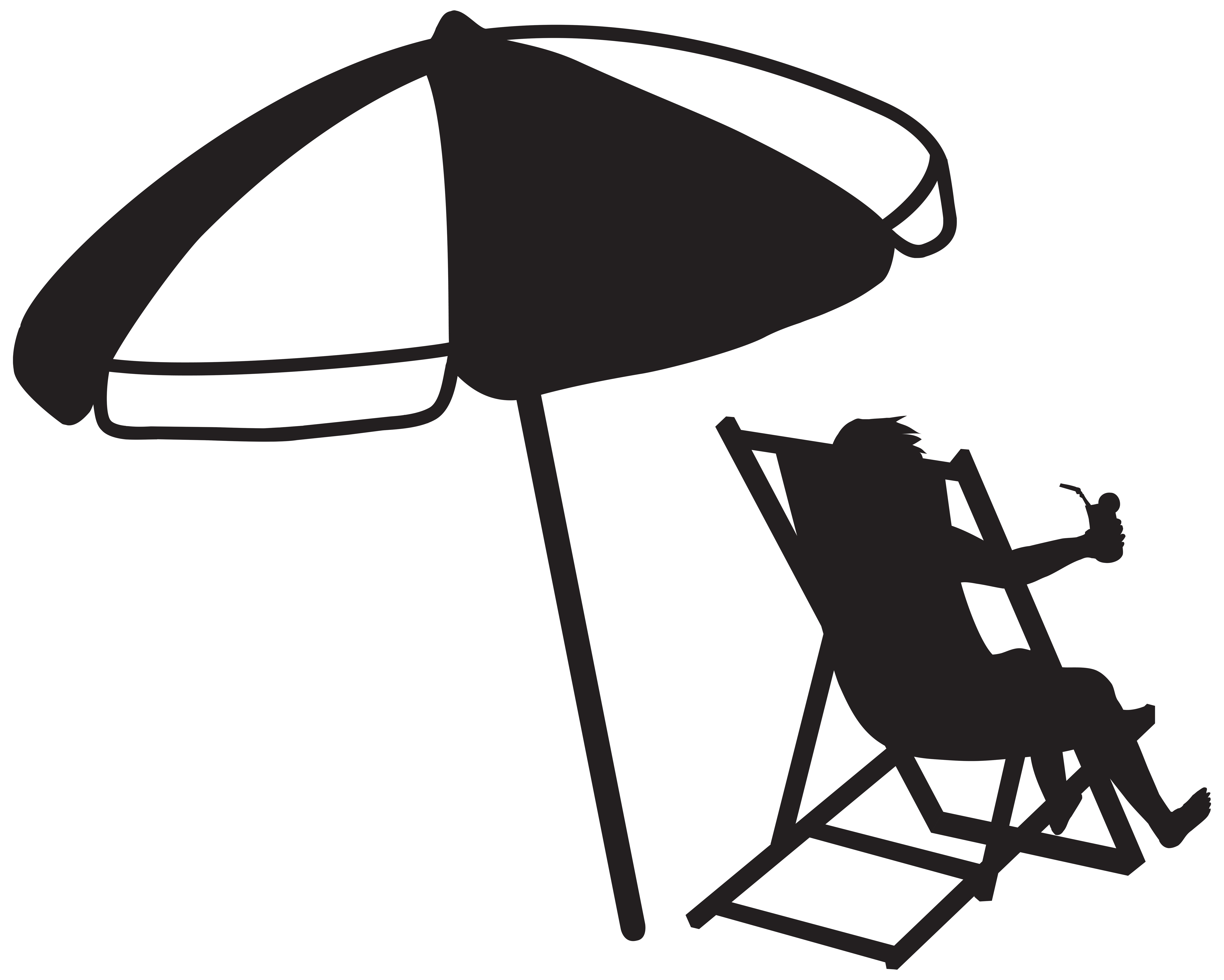 Umbrella Clipart Black And White | Free download on ClipArtMag