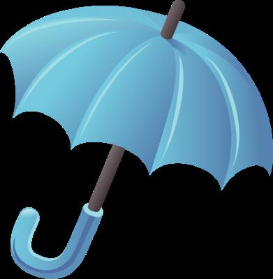 391x400 Blue Umbrella Clipart Free Clipart Images 2 Clipartix 2