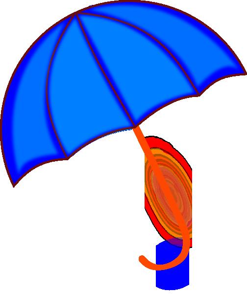 504x600 Colorfull Free Umbrella Clipart