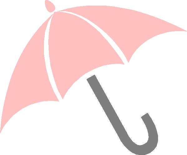 600x498 Pink Umbrella Clip Art