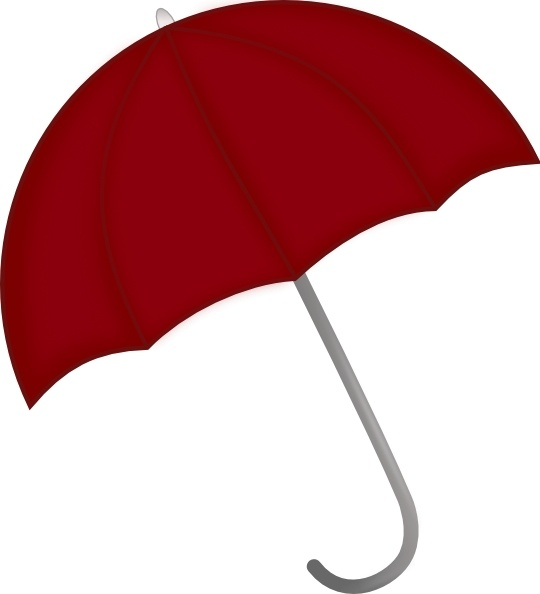 540x594 Red Umbrella Clip Art Free Vector In Open Office Drawing Svg