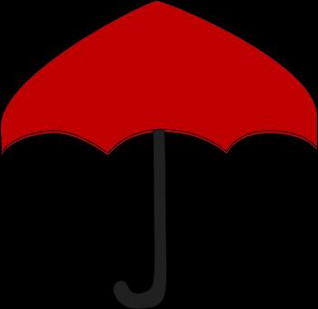 350x340 Umbrella Clip Art