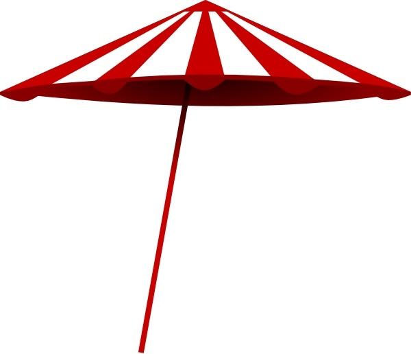 600x516 Umbrella Black And White Tomk Red White Umbrella Clip Art Free