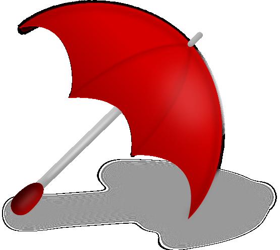 555x495 Umbrella Clip Art Outline Free Clipart Images