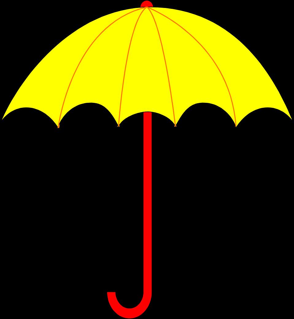958x1039 Umbrella Clipart Free To Print Clip Art Of 9