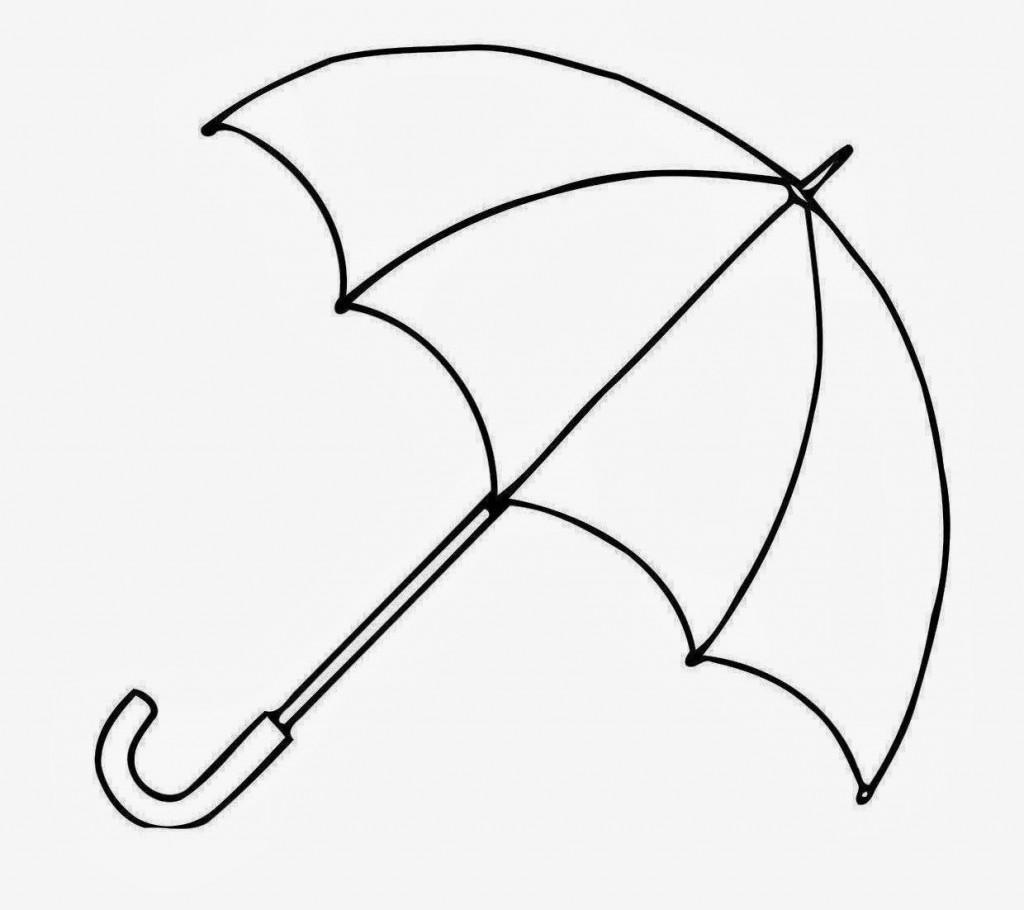 1024x910 Umbrella Clipart To Print Clip Art Of 6