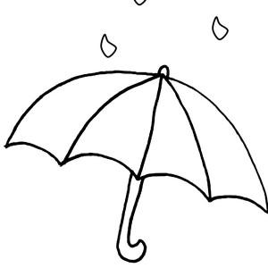 Umbrella Coloring Page Free Download Best Umbrella