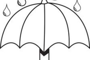 Umbrella Coloring Page   Free download best Umbrella ...