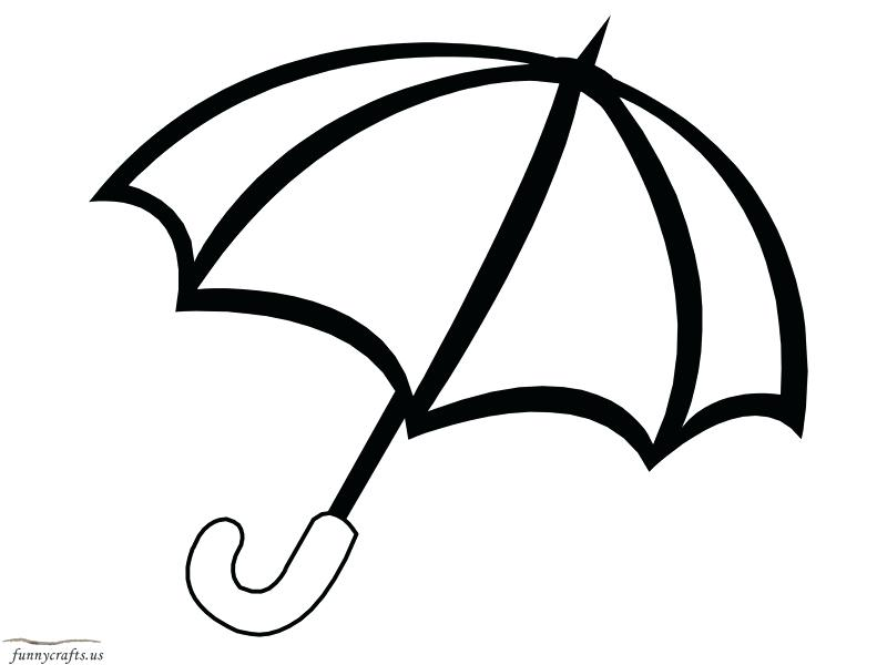 800x600 Umbrella Coloring Sheet Umbrella Coloring Page Rain And Umbrella