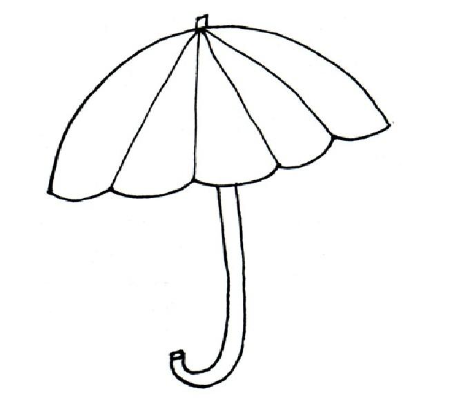 Umbrella Coloring Page | Free download best Umbrella Coloring Page ...