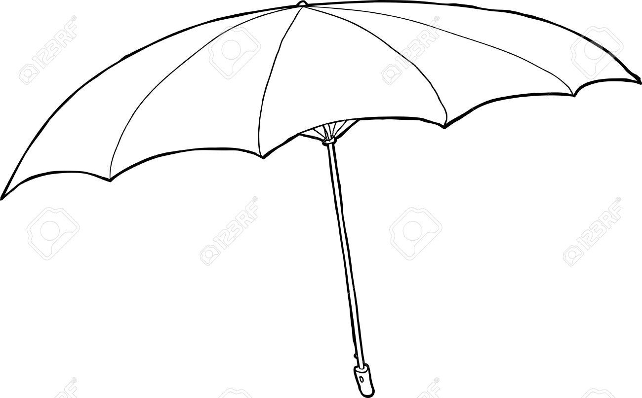1300x807 Drawn Umbrella
