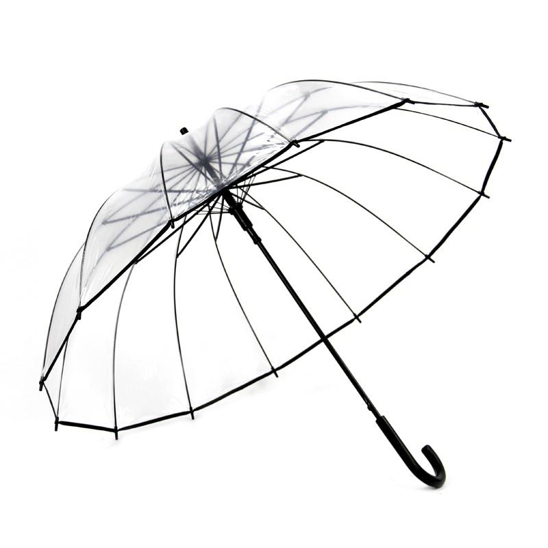 800x800 Clear Transparent Rain Umbrella Parasol Pvc Dome Umbrella Parasol