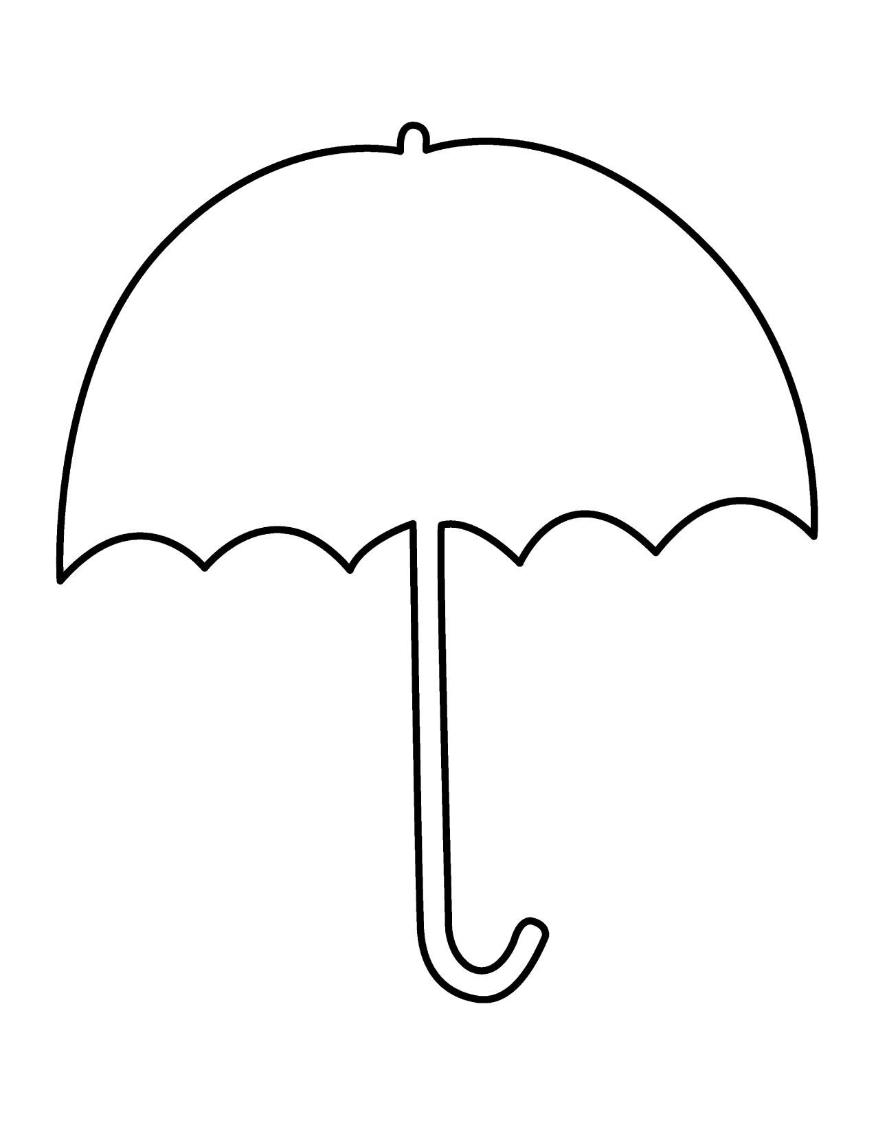 1275x1650 Umbrella Clip Art Free