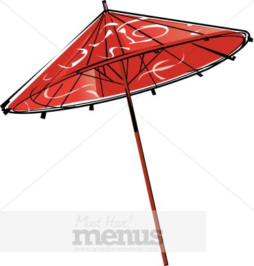 370x388 Asians Clipart Japanese Umbrella