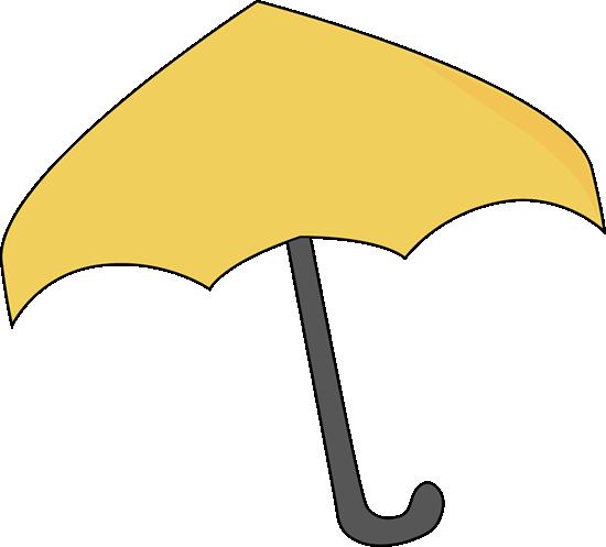 550x497 Yellow Umbrella Clip Art