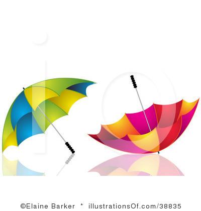 400x420 Free Umbrella Clipart