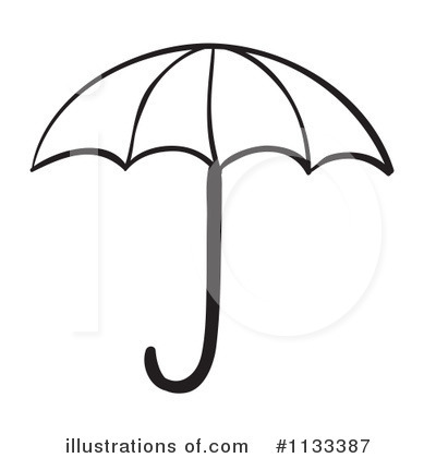 400x420 Graphics For Umbrella Outline Graphics