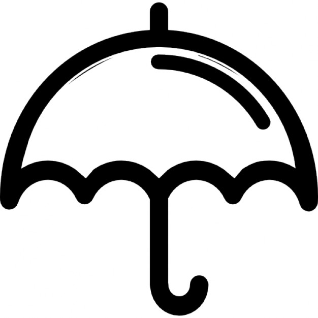 626x626 Small Umbrella Outline Icons Free Download