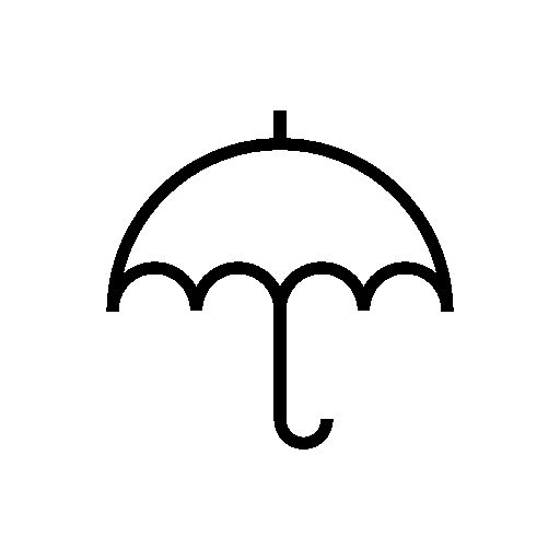 512x512 Small Umbrella Outline Free Icon Prints Outlines