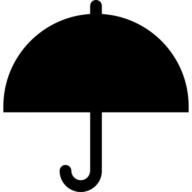 626x626 Umbrella Outline, Ios 7 Interface Symbol Icons Free Download