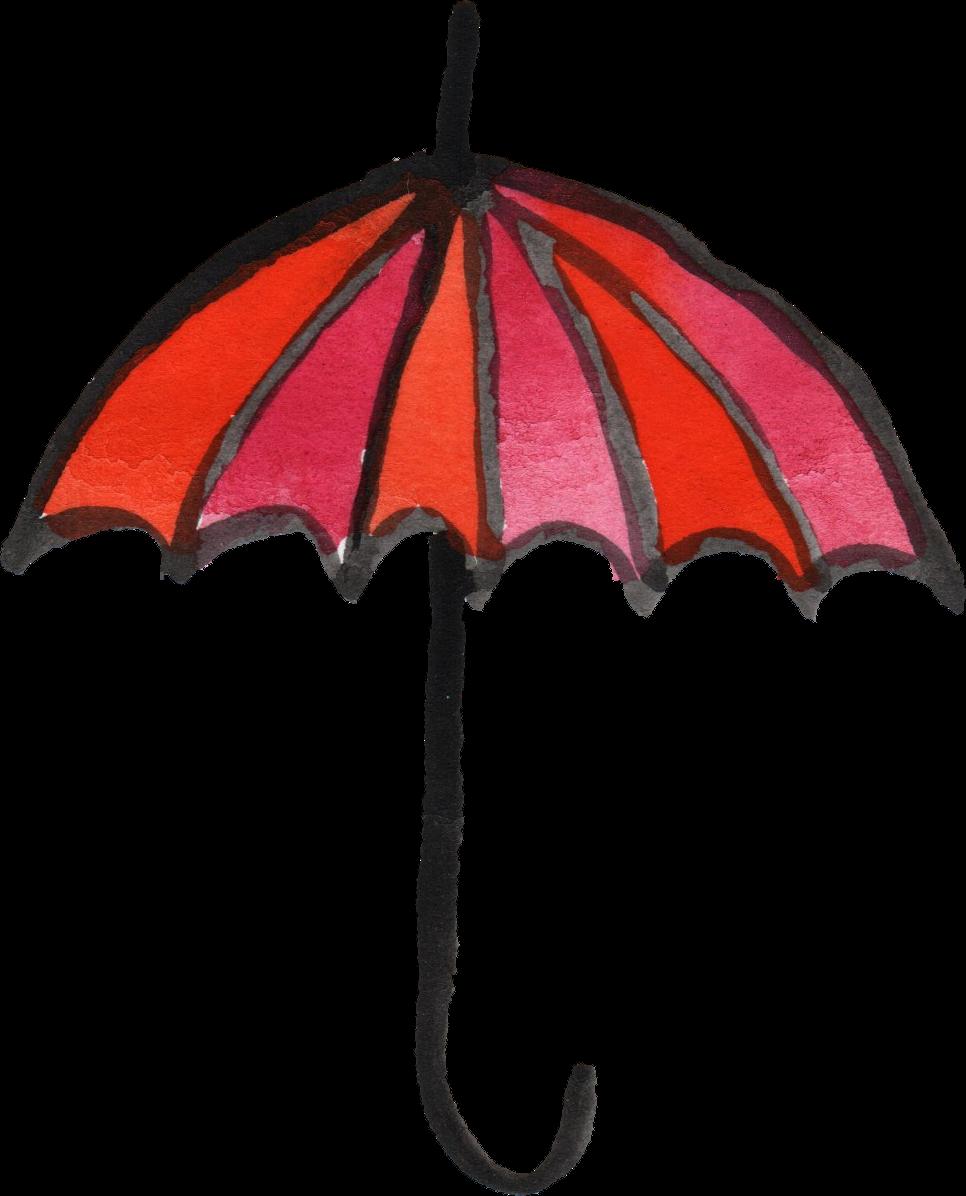 966x1196 10 Watercolor Umbrella (Png Transparent)