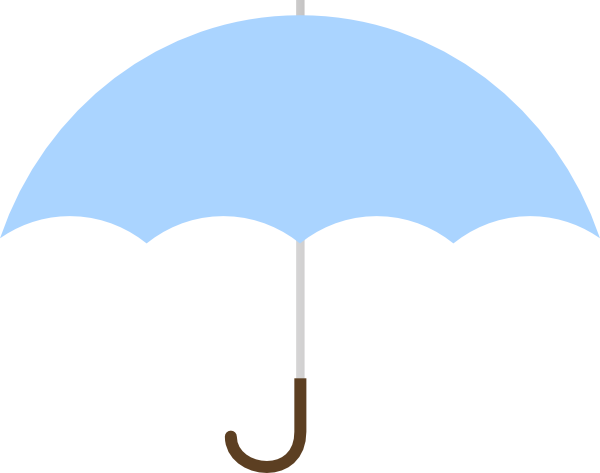 600x473 Turquoise Umbrella Png, Svg Clip Art For Web