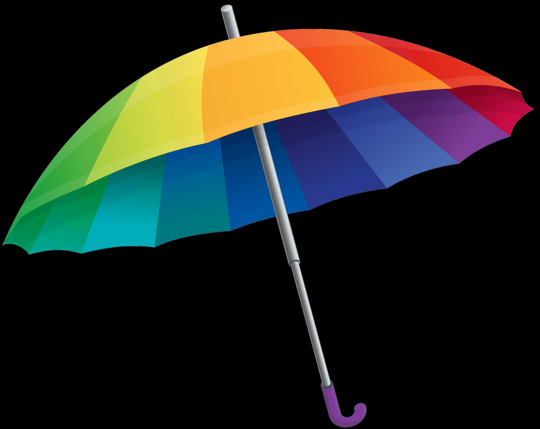 3000x2381 Umbrella Rainbow Transparent Png