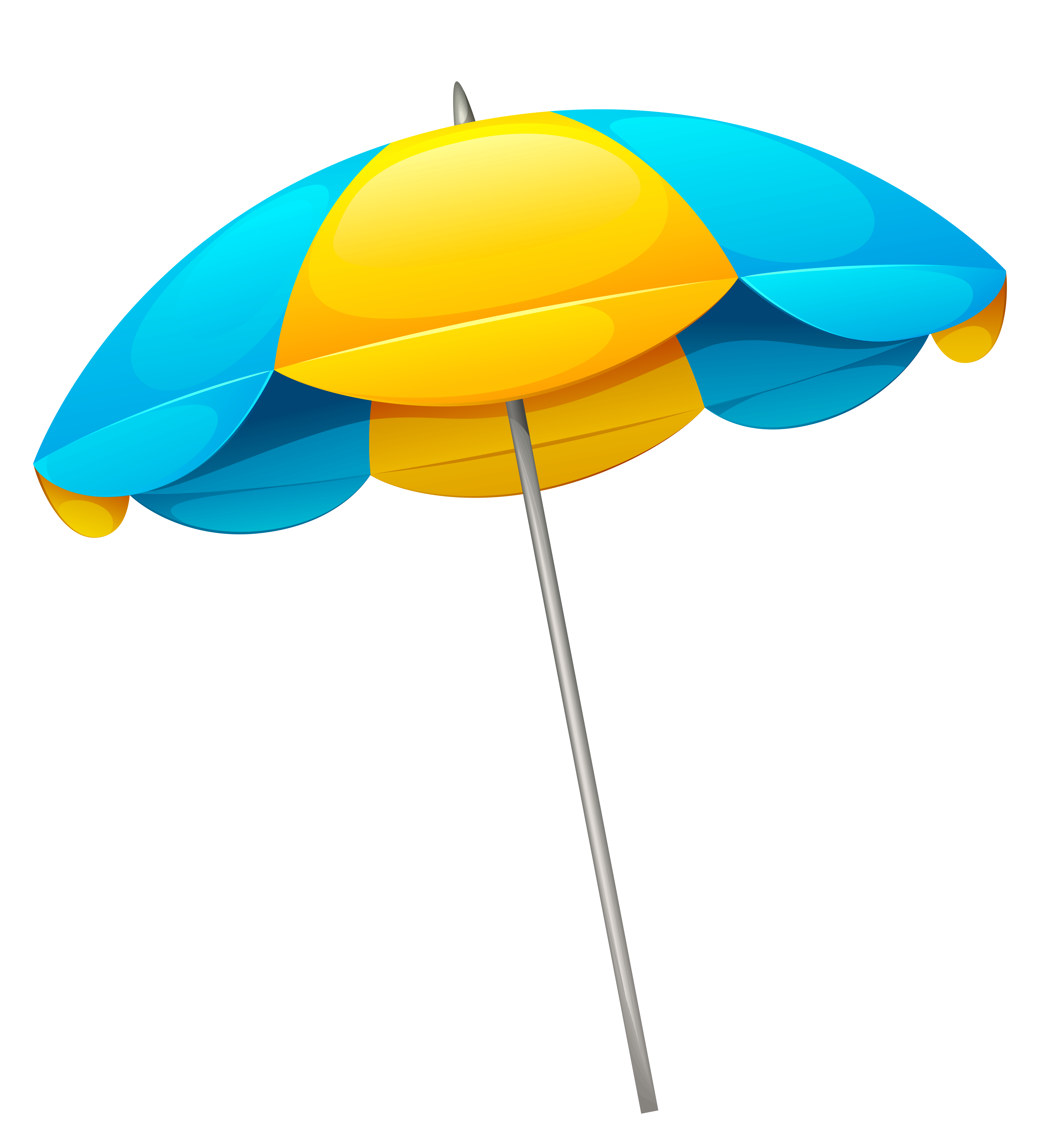 4055x4400 Yellow Blue Beach Umbrella Png Clipartu200b Gallery Yopriceville