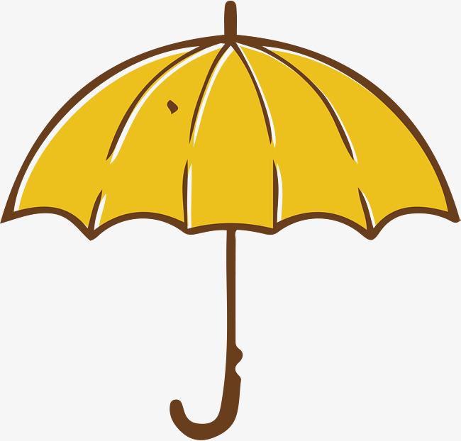 650x622 Yellow Umbrella, Vector Png, Umbrella Png And Vector For Free Download