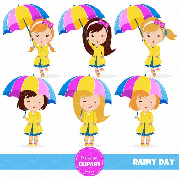 Umbrella Rain Clipart