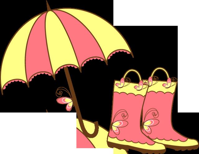 640x496 Cute Spring Rain Clipart